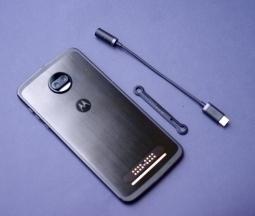 Адаптер USB Type-C на наушники 3.5 Moto Z2 Force - изображение 2