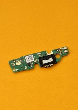 Плата нижняя Motorola Moto G7 Play порт зарядки / микрофон - фото 2