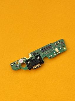 Плата нижняя Motorola Moto G7 Play порт зарядки / микрофон