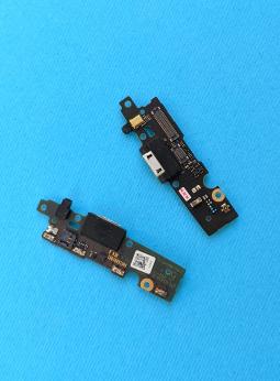 Плата нижняя с портом USB Motorola Moto E4 (Америка со сканером отпечатка)