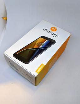 Коробка Motorola Moto G4