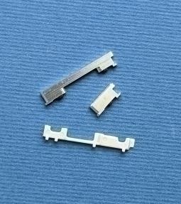 Кнопки боковые Motorola Moto G7 серебро