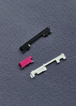 Кнопки боковые Motorola Moto G7 чёрные