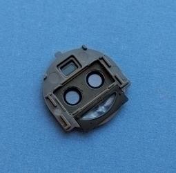 Стекло на камеру Motorola Moto G5s Plus в рамке - фото 2