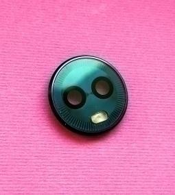 Стекло камеры в рамке Motorola Moto G6 тёмно-синее