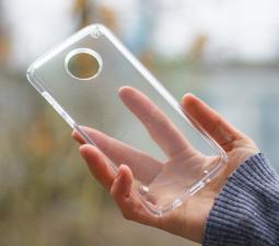 Чехол Motorola Moto Z4 Speck Presidio Stay Clear прозрачный - фото 3
