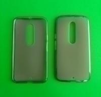 Чехол Motorola Moto X Style силикон чёрный - изображение 2