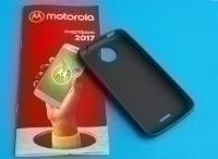 Чехол Motorola Moto C черный