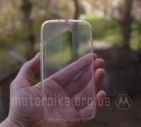 Чехол Motorola Moto G3 прозрачный - изображение 2