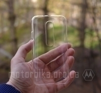 Чехол Motorola Moto G3 hard shell прозрачный
