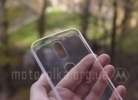 Чехол Motorola Moto G4 прозрачный