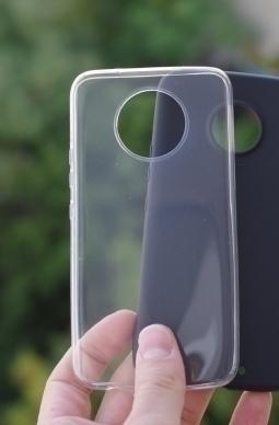 Чехол Motorola Moto X4 прозрачный