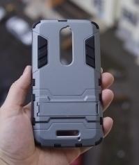 Чехол Motorola Moto X Force / Droid Turbo 2 серый