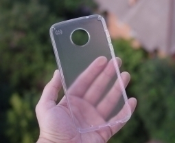 Чехол Moto Z2 Play Speck прозрачный - изображение 6