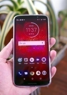 Чехол Motorola Moto Z3 прозрачный - изображение 2