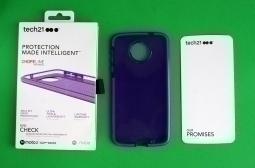 Чехол Motorola Moto Z Tech21 фиолетовый