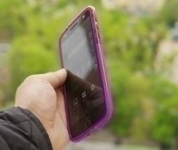 Чехол Motorola Moto Z Tech21 фиолетовый - изображение 6