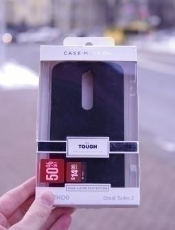 Чехол Motorola Droid Turbo 2 Case Mate чёрный - изображение 3