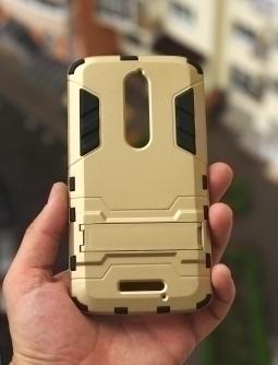 Чехол Motorola Droid Turbo 2 Gold - изображение 4