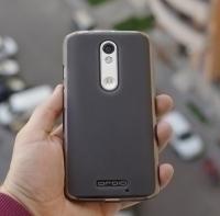 Чехол Motorola Droid Turbo 2 черный силикон