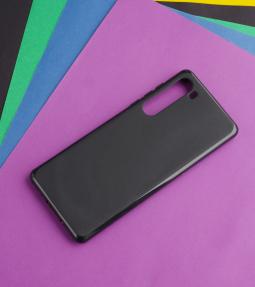 Чехол Motorola Edge чёрный матовый - фото 4