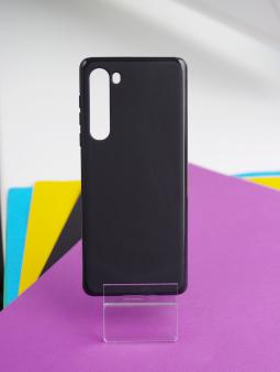 Чехол Motorola Edge чёрный матовый