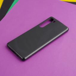 Чехол Motorola Edge чёрный матовый - фото 2