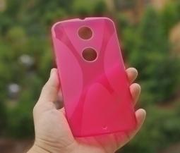 Чехол Motorola Google Nexus 6 красный