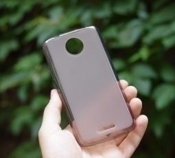 Чехол Motorola Moto C smoke black