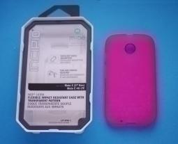 Чехол Motorola Moto E2 Incipio NGP розовый - изображение 3