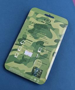 Чехол Motorola Moto E4 (Европа) NX Camo Series зеленый - фото 3