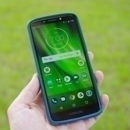 Чехол Motorola Moto E5 Ondigo синий - фото 3