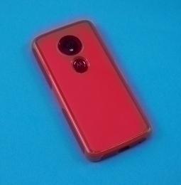 Чехол Motorola Moto E5 Ondigo красный - фото 2