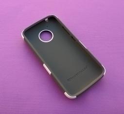Чехол Motorola Moto E4 США Ondigo белый с ножкой - фото 2