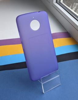Чехол Motorola Moto E4 Plus (Европа) голубой