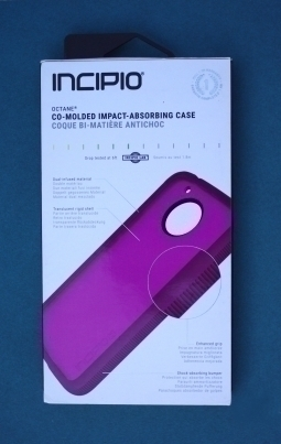 Чехол Motorola Moto E4 Plus Incipio сиреневый USA - изображение 5