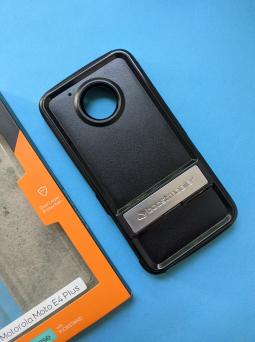 Чехол Motorola Moto E4 Plus США Ondigo чёрный с ножкой