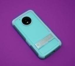 Чехол Motorola Moto E4 США Ondigo бирюза с ножкой