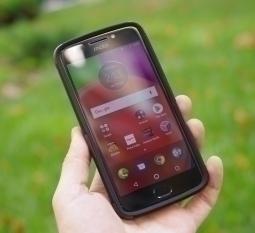 Чехол Motorola Moto E4 Америка Ondigo чёрный - фото 2
