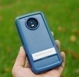 Чехол Motorola Moto E4 США Ondigo синий с ножкой - фото 2