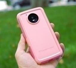 Чехол Motorola Moto E4 США Ondigo pink - фото 2