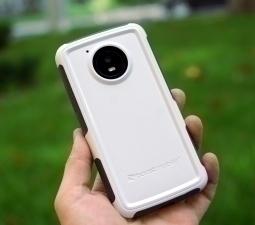 Чехол Motorola Moto E4 Американская Ondigo белый