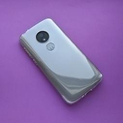 Чехол Motorola Moto E5 Play (США) TPU прозрачный - фото 4