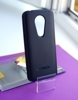 Чехол Motorola Moto E5 Plus Otterbox Prefix чёрный - фото 2