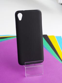 Чехол Motorola Moto E6 чёрный матовый