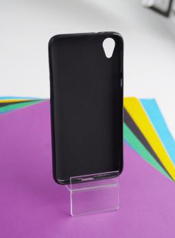 Чехол Motorola Moto E6 чёрный матовый - фото 2