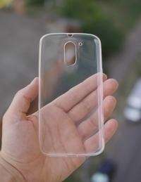 Чехол Motorola Moto G4 Plus прозрачный