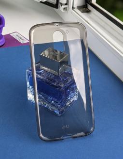 Чехол Motorola Moto G4 Plus дымчатый серый