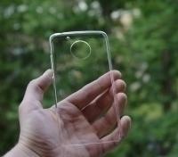Чехол Motorola Moto G5 прозрачный пластик - изображение 2