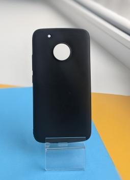 Чехол Motorola Moto G5 Plus черный матовый